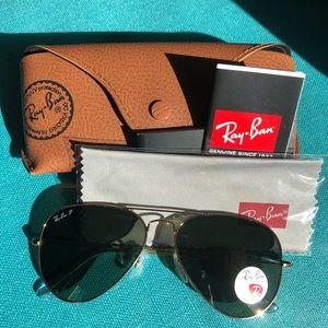 RayBan sunglasses polarized 001/58 58mm